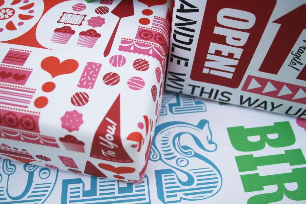 Bo Lundberg Illustration Lagom gift wrap