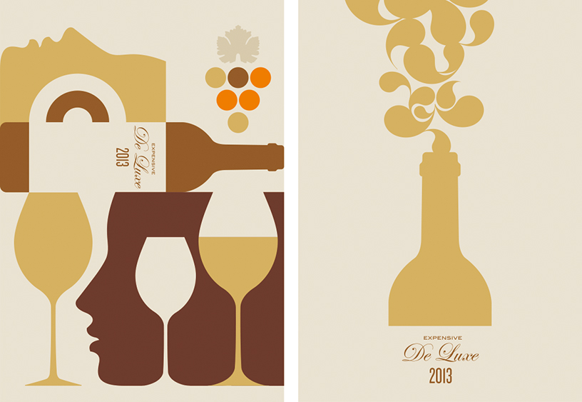Bo Lundberg Illustration Wine