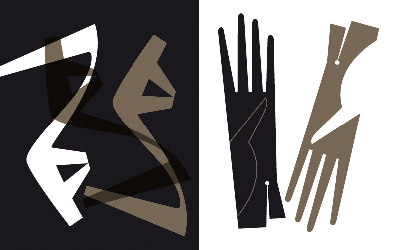 Bo Lundberg Illustration shoes and gloves