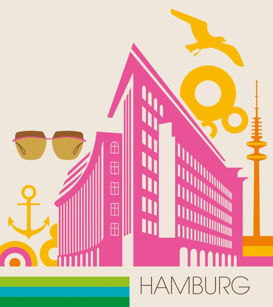 Bo Lundberg Illustration Elle City